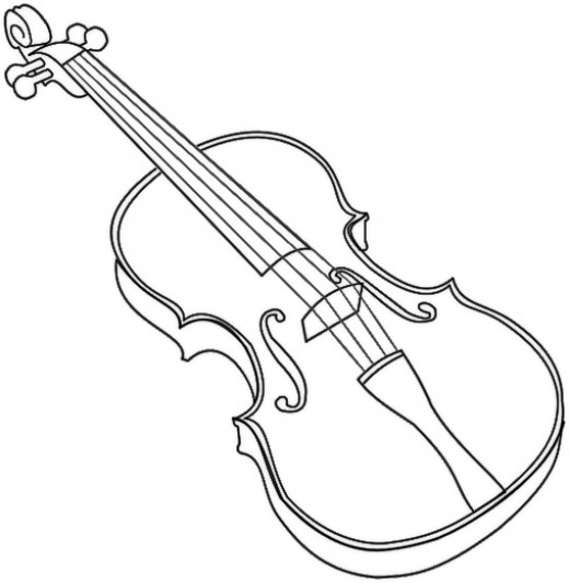 brass family instruments coloring pages - photo#21