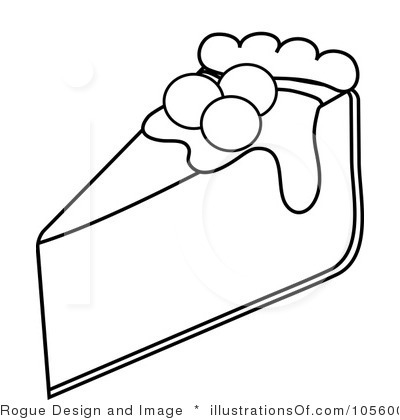 Pizza Pie Clipart Black And White Royalty Free Pie Clipart