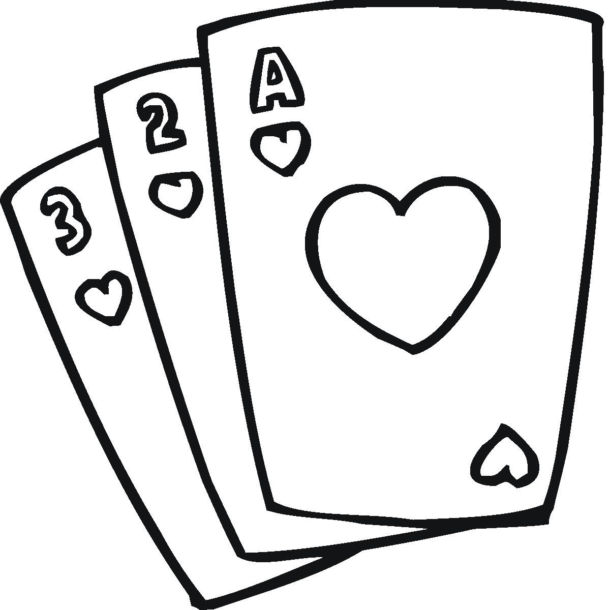 Clip Art Playing Cards Clipart black and white playing cards clipart kid card clip art cliparts co