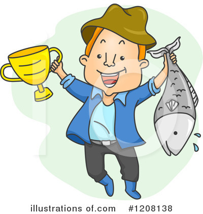 Royalty Free  Rf  Fishing Clipart Illustration  1208138 By Bnp Design