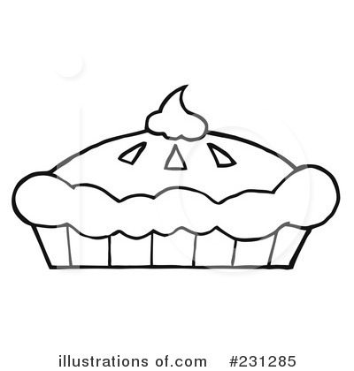 Royalty Free  Rf  Pumpkin Pie Clipart Illustration By Hit Toon   Stock