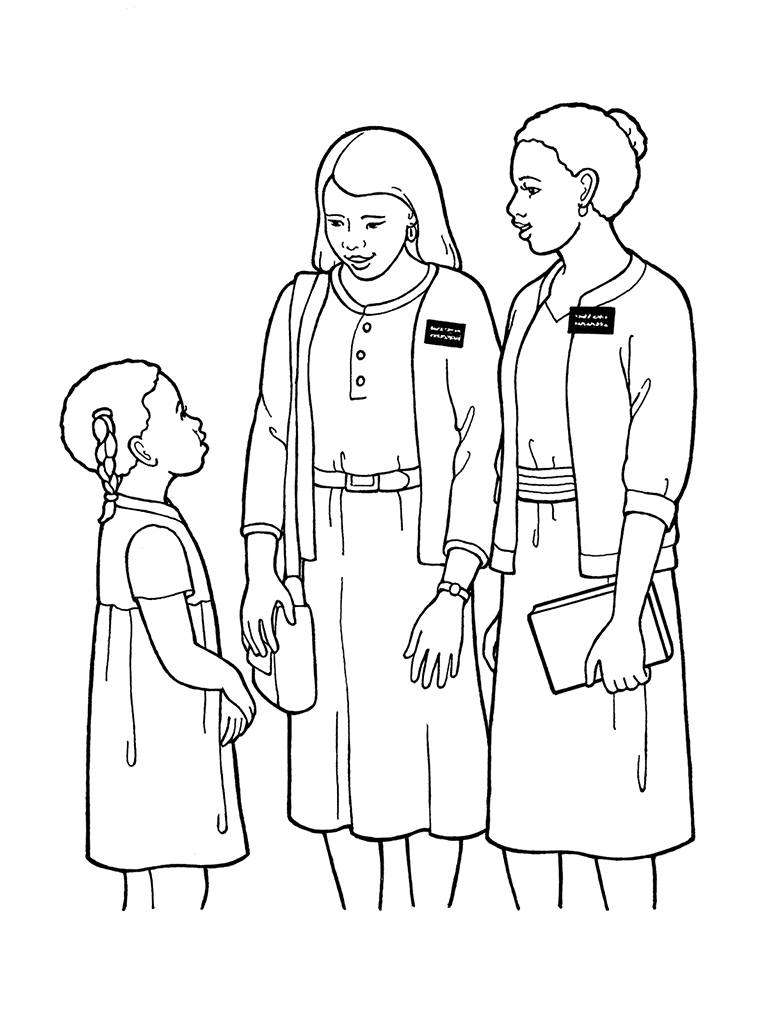 Missionary Lds Church Service Clipart - Clipart Kid