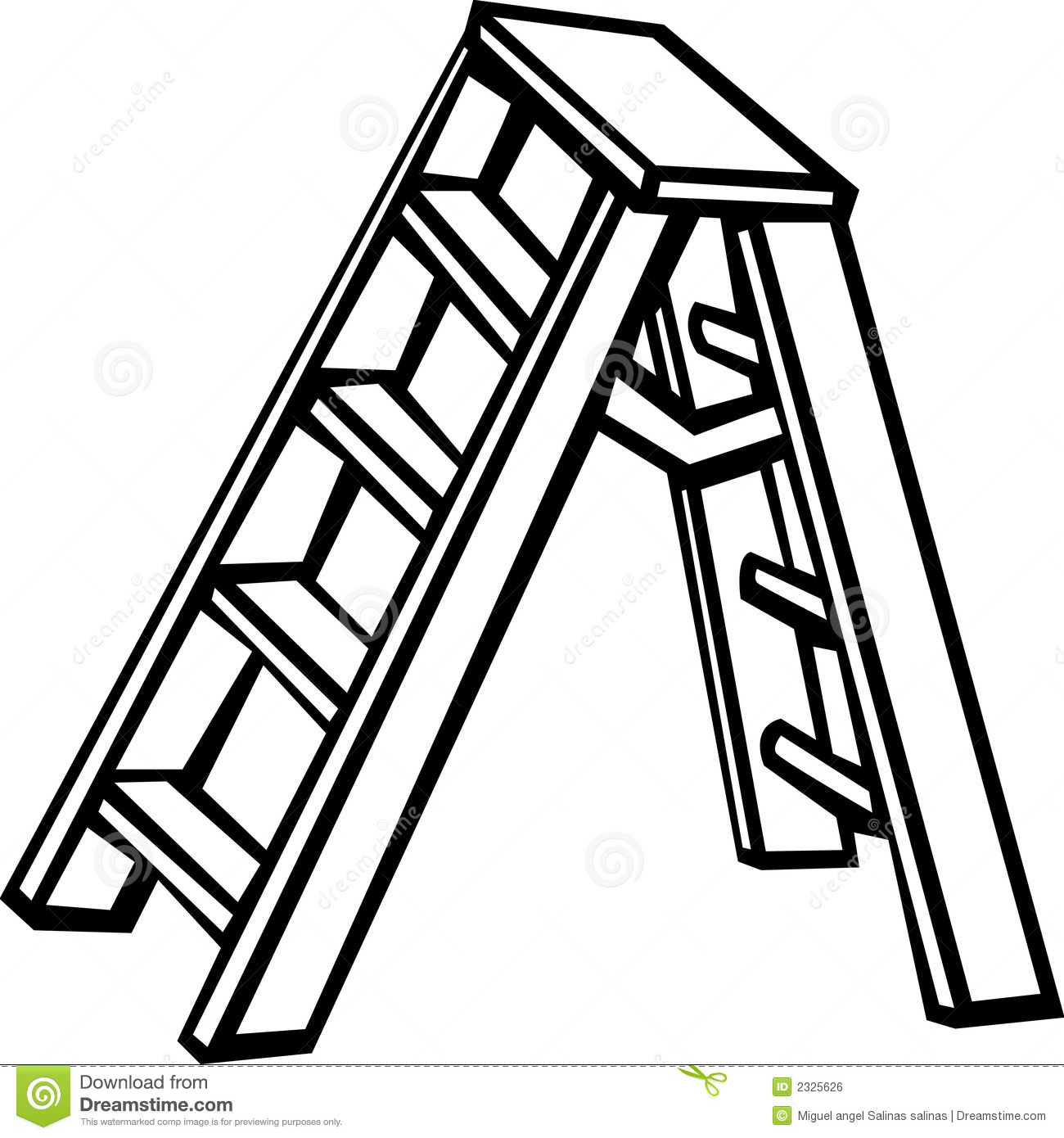 Step Ladder Clipart Step Ladder Vector