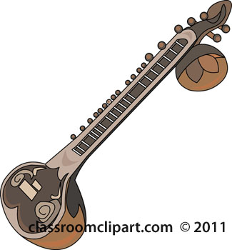 String Instruments Clipart Sitar String Musical