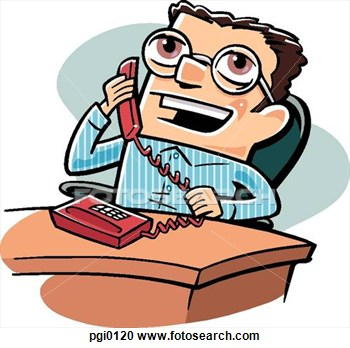 The Talking On Phone Clipart - Clipart Suggest