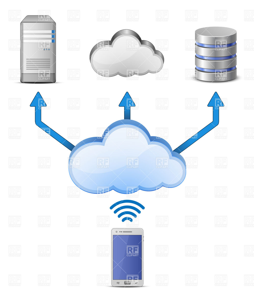 Image Gallery network connection clip art