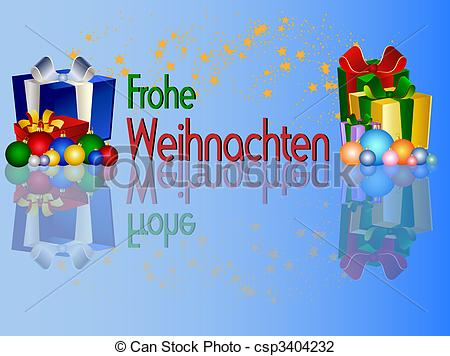 Art Of German Merry Christmas Background Csp3404232   Search Clipart