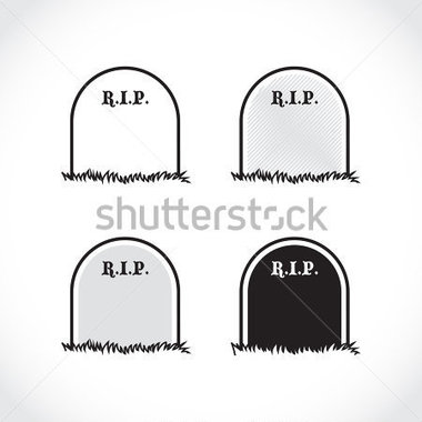 Browse   Miscellaneous   Gravestone Rest In Peace Illustration