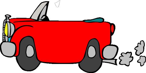 Car Smoke Clipart Car Only Clip Art   Vector