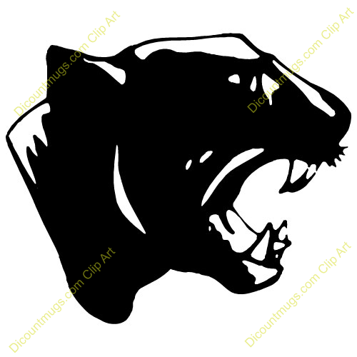 Clipart 10900 Black Panther   Black Panther Mugs T Shirts Picture