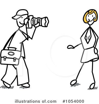 Dress Model Technology On Royalty Free Rf Model Clipart Illustration