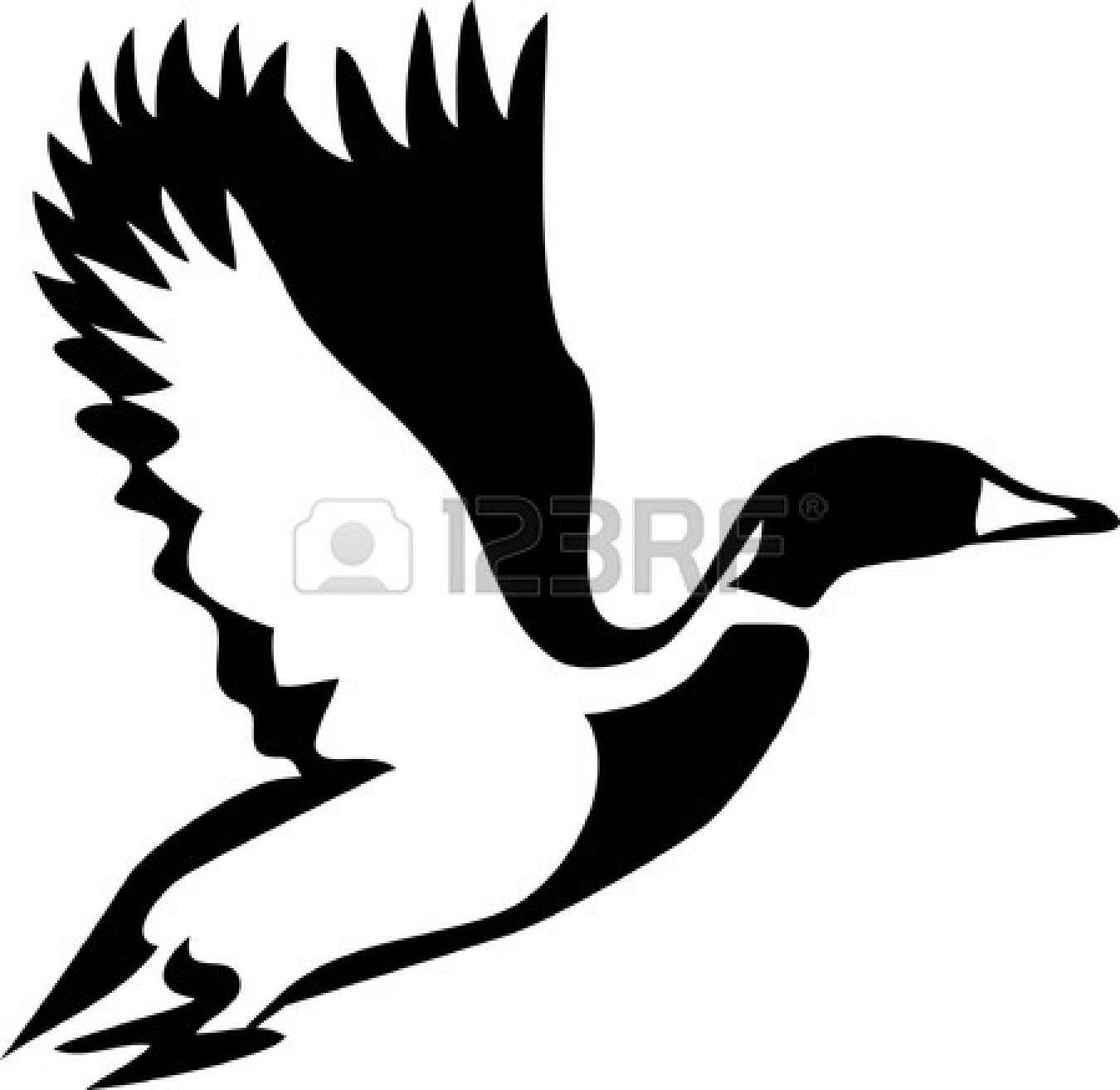 Duck Clipart Black And White   Clipart Panda   Free Clipart Images