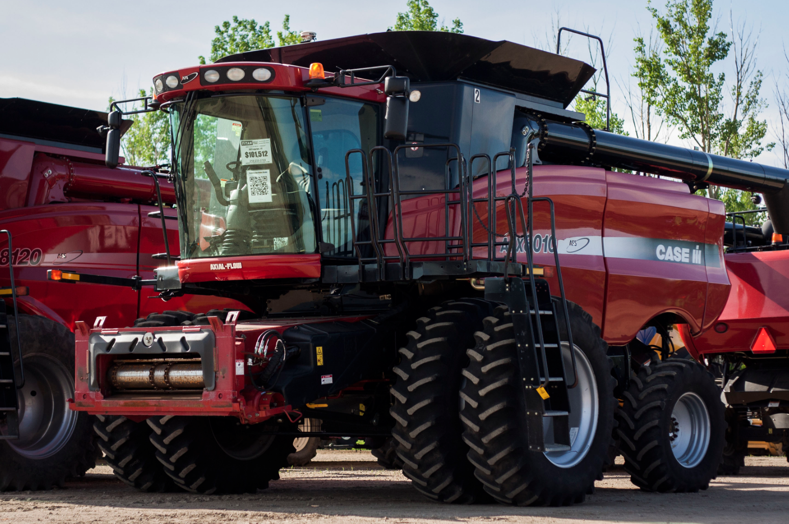 Case Ih Combine Clipart - Clipart Kid
