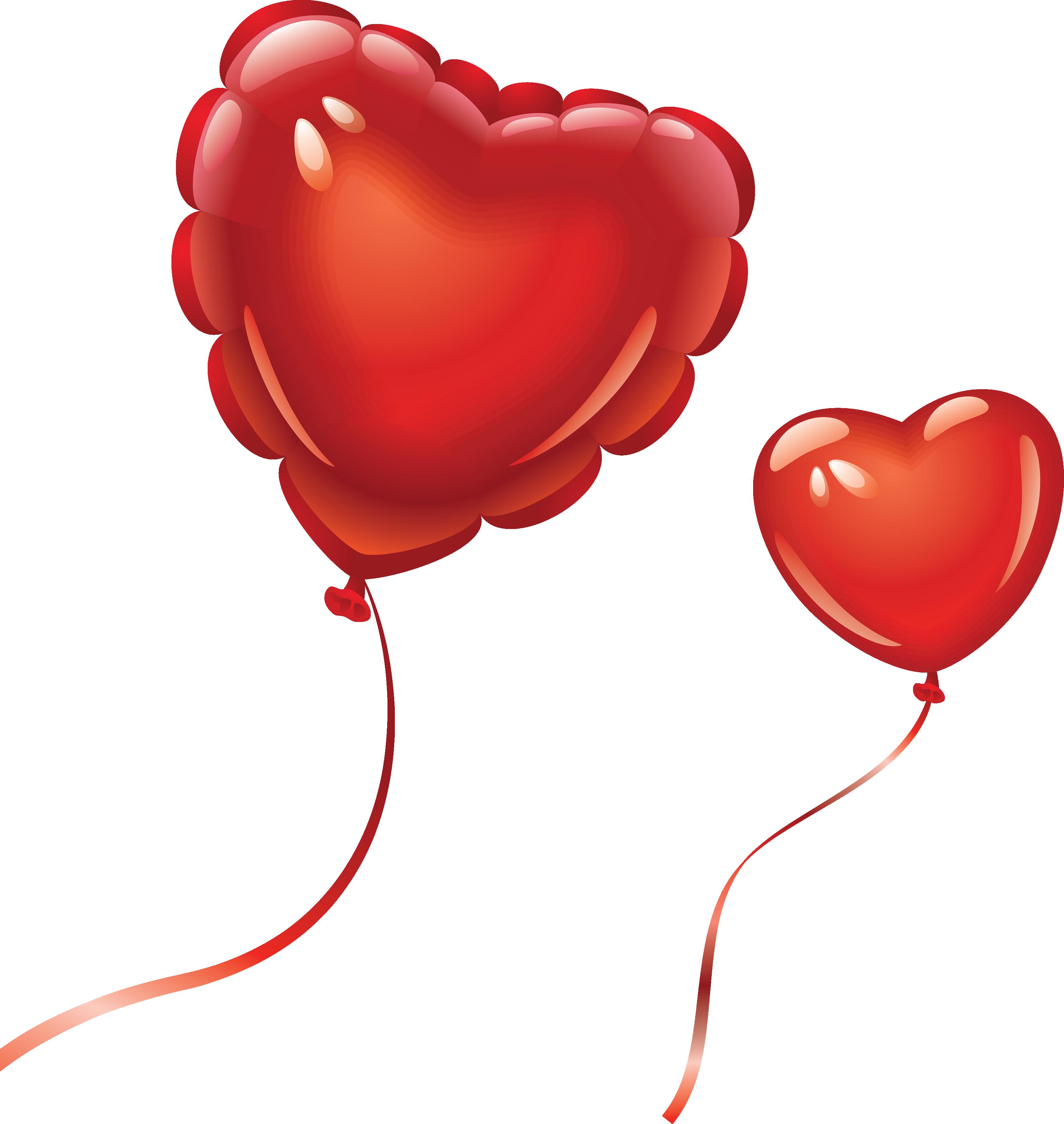 Heart balloon clipart clipart kid - How to make heart balloon ...