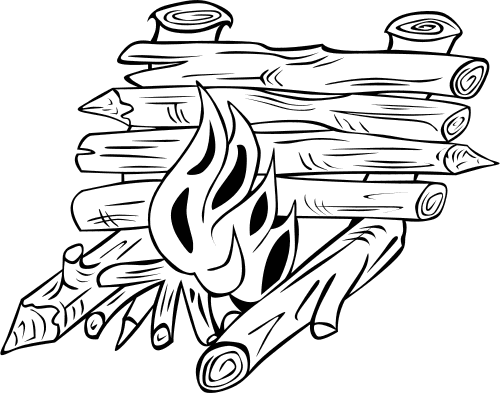 Log Cabin Coloring Pages   Free Cliparts That You Can Download To