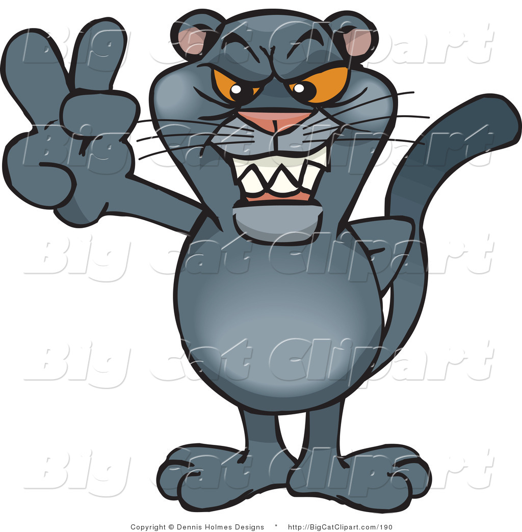 Panther Face Clip Art Cat Clipart Illustrations
