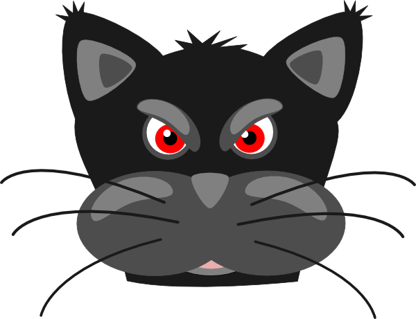 Peterm Angry Black Panther Clip Art At Clker Com   Vector Clip Art
