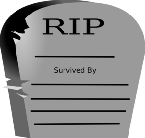 Rest In Peace Word Graveyard Stone Clip Art At Clker Com   Vector Clip