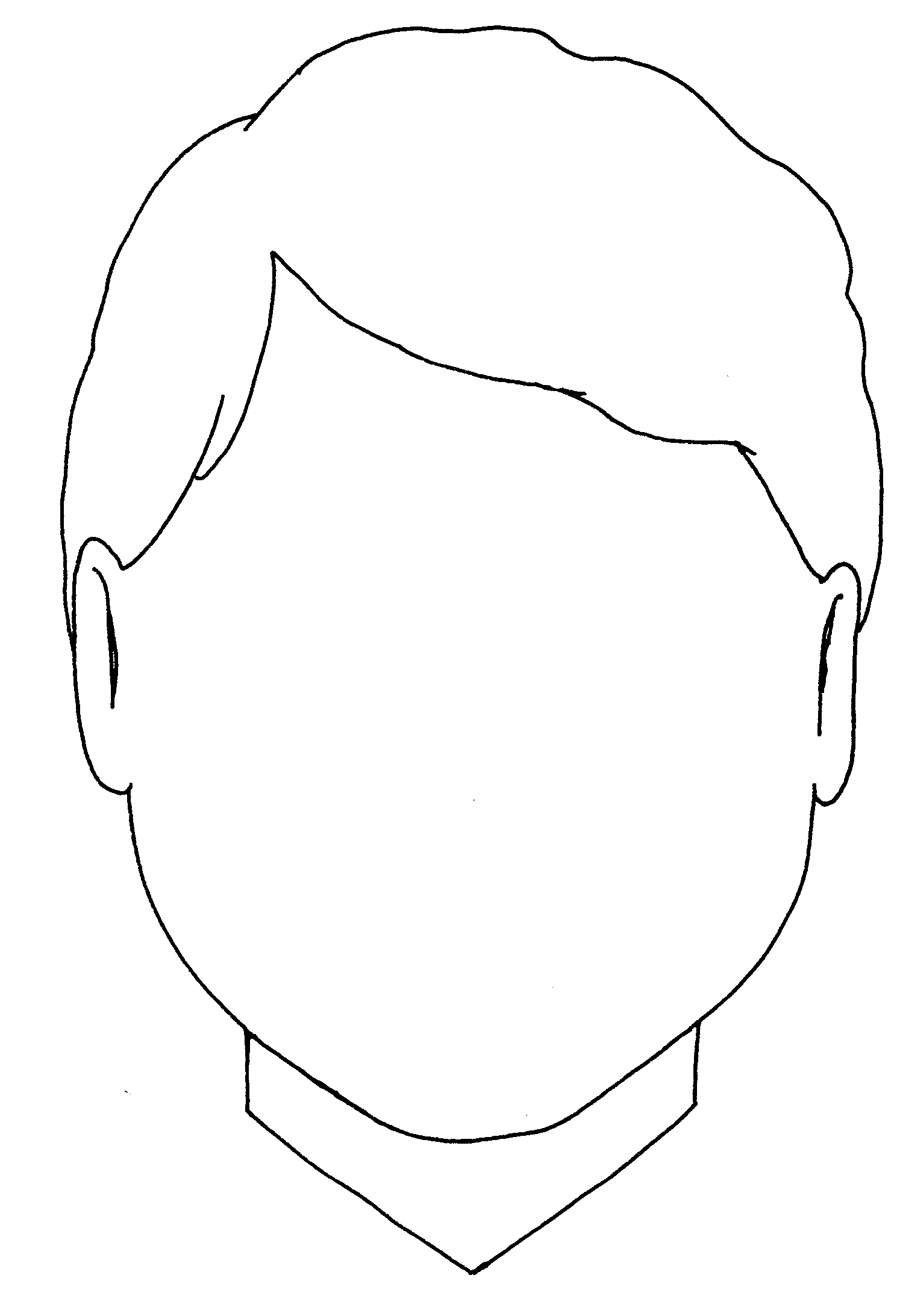 10 Boy Face Pic Outline Free Cliparts That You Can Download To You