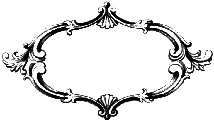Black Scroll Frame Clip Art   Clipart Panda   Free Clipart Images