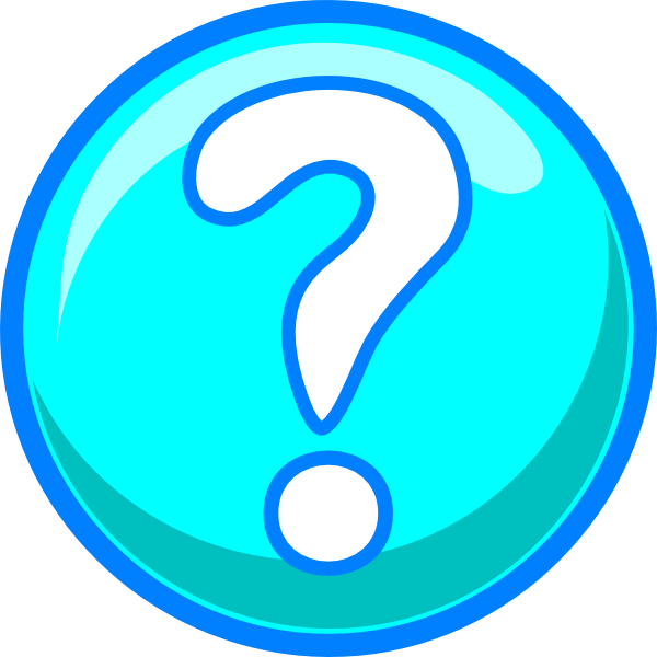 Blue Question Mark Clipart - Clipart Suggest