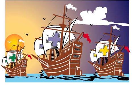 Clip Art Christopher Columbus Clipart christopher columbus ships clipart kid facts and free animations clipart
