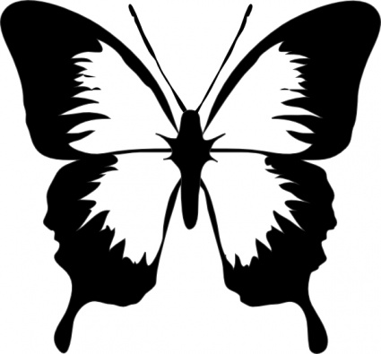 Clipart Butterfly Outline   Clipart Panda   Free Clipart Images