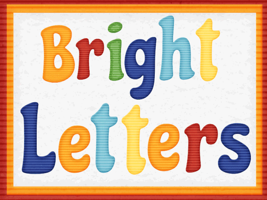 Com Blog  Just Added   Bright Letters Alphabet Clipart Resource Pack