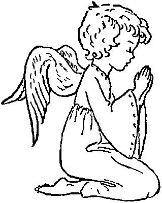 Praying Angel Cliparts Free