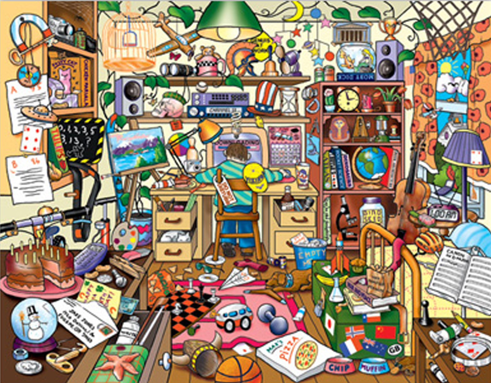 Image result for hoarder cartoon