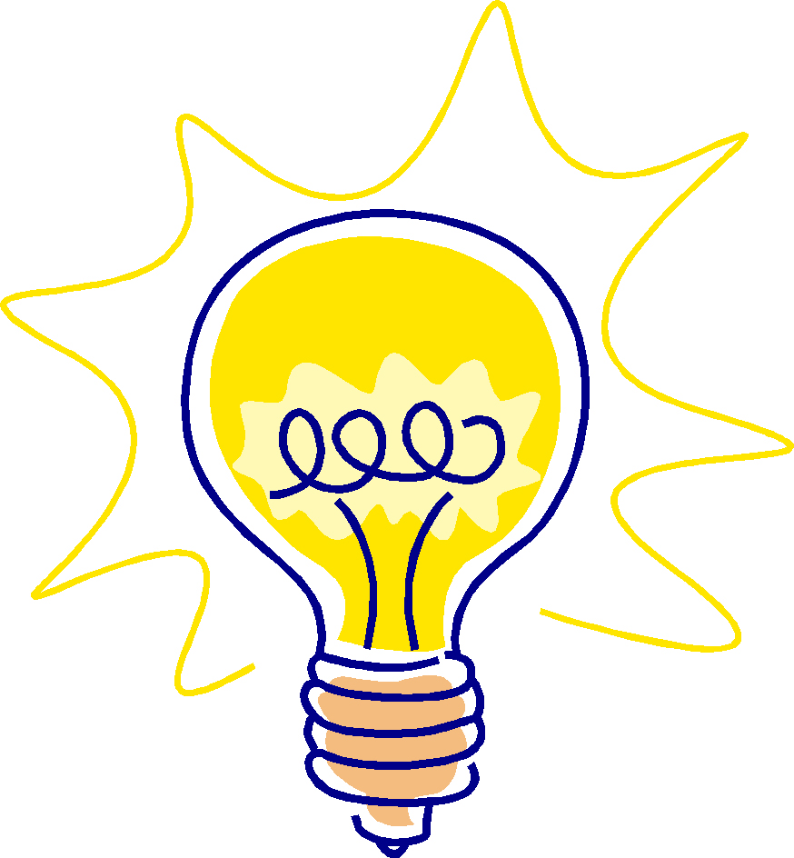 Light Bulb Idea Clipart - Clipart Kid
