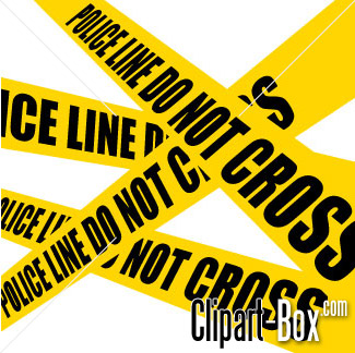Related Police Line Cliparts