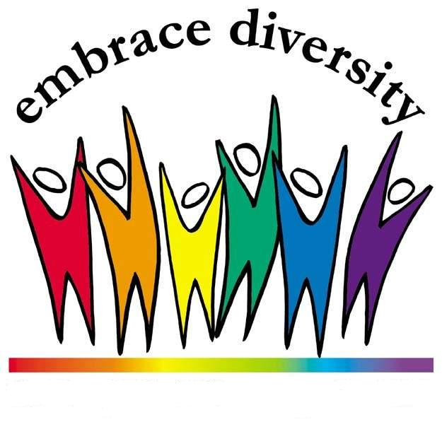 Clip Art Diversity Clipart workplace diversity clipart kid the charter for our high school states that goal is to graduate