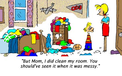 The Messy Dirty Rooms In Houses Quotes