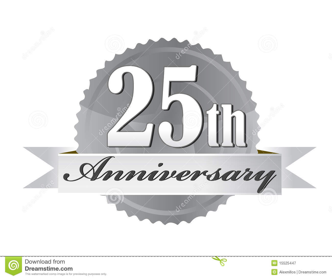 Silver Anniversary Clipart - Clipart Kid