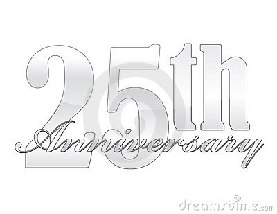 25th Anniversary Stock Photos   Image  16277473