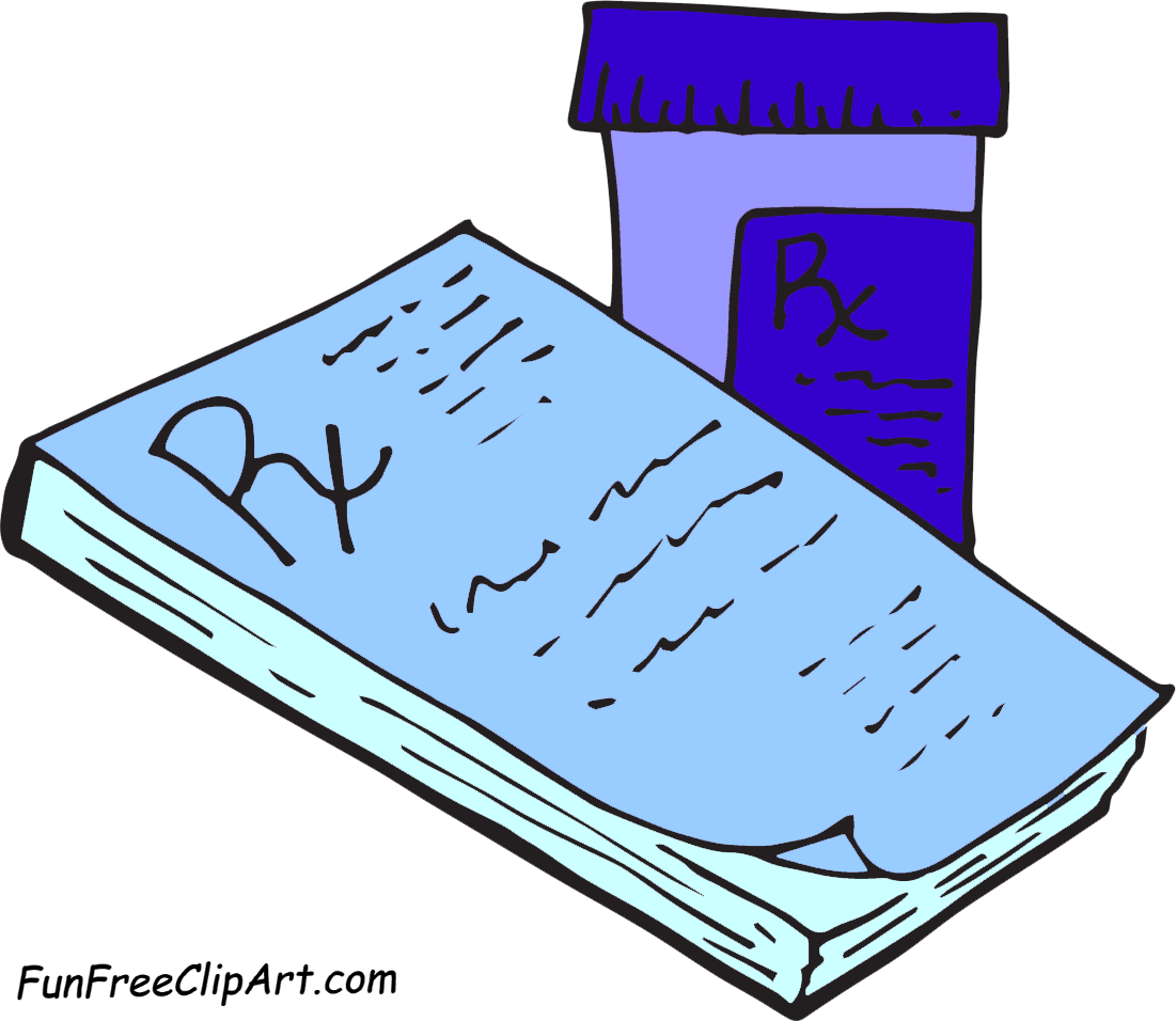Anti Depressant Clipart Therapy Clipart Rxpad Pill Bottle Web 02 Png