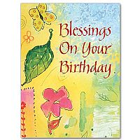 Blessings On Your Birthday Birthday Card   1 49