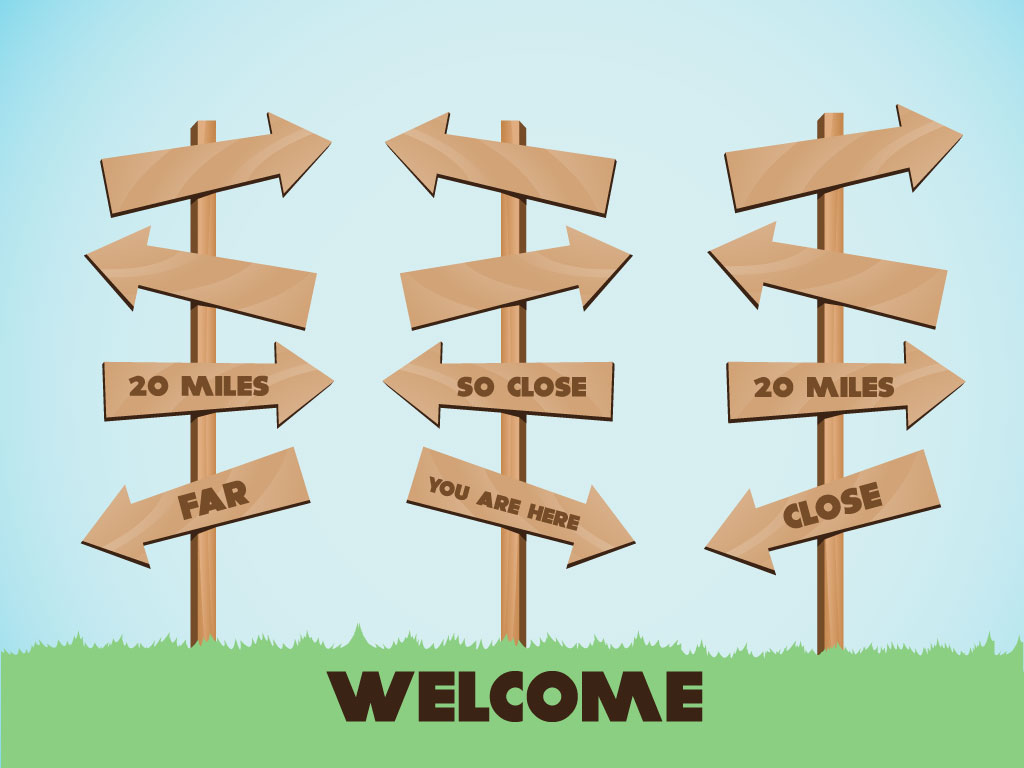 Cartoon Style Wood Signs For Your Background Collection  Fun Clip Art
