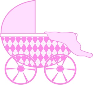Pink Black Baby Girl Clipart - Clipart Kid