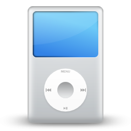 Ipod Clipart Black And White White Apple Ipod Icon