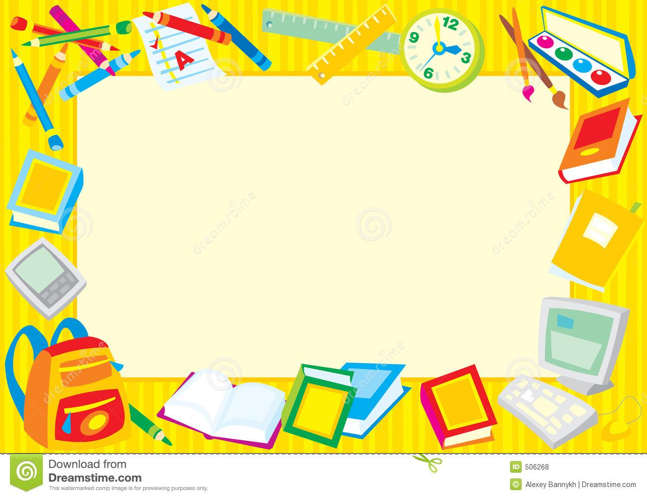 Clip Art School Border Clipart school theme page boarder clipart kid borders clipart