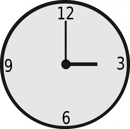 Clock Clip Art Free Vector In Open Office Drawing Svg    Svg   Format