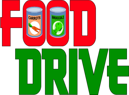 Food Donation Clipart Food Drive Clip Art