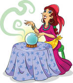 Fortune Teller   Clipart Graphic