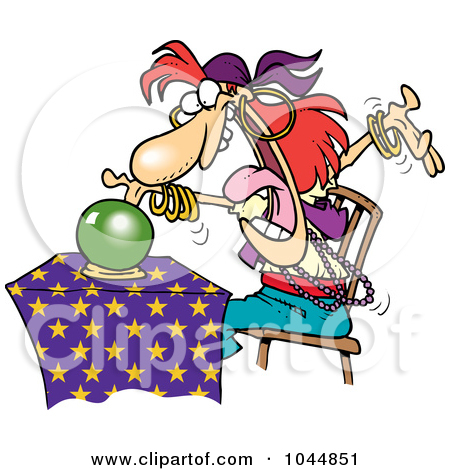 Fortune Teller Crystal Ball Clipart