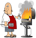 Free Clipart   Bbq Clipart Page 2 For Labor Day Weekend  Barbecue