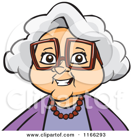 Grandmother Cartoon Clipart - Clipart Kid