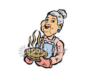 Grandma Baking Clipart - Clipart Kid