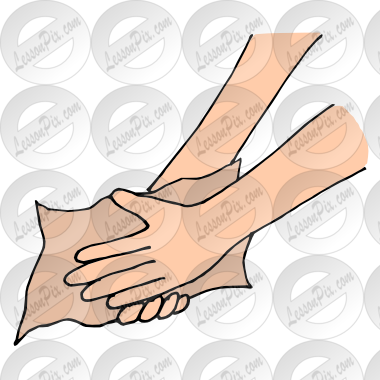 Hands Picture For Classroom   Therapy Use   Great Dry Hands Clipart